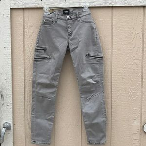Women's Hudson Jeans light gray.  Lots of strench